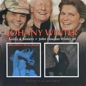 Johnny Winter - Saint And Sinners (1974) + Johnny Dawson Winter III (1974) 2 LP on 1 CD, Remastered 2007