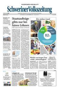 Schweriner Volkszeitung Hagenower Kreisblatt - 29. November 2017