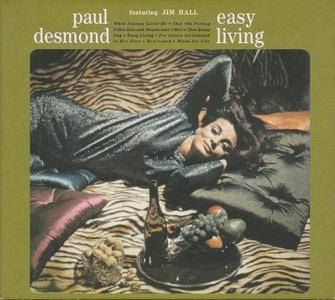Paul Desmond - Easy Living (1966) {Featuring Jim Hall, RCAVICTOR Gold Series 74321747962 rel 2000}