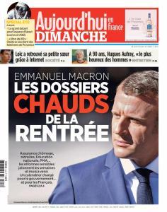 Aujourd'hui en France du Dimanche 18 Août 2019