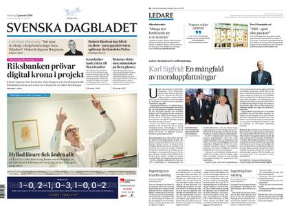Svenska Dagbladet – 02 januari 2019