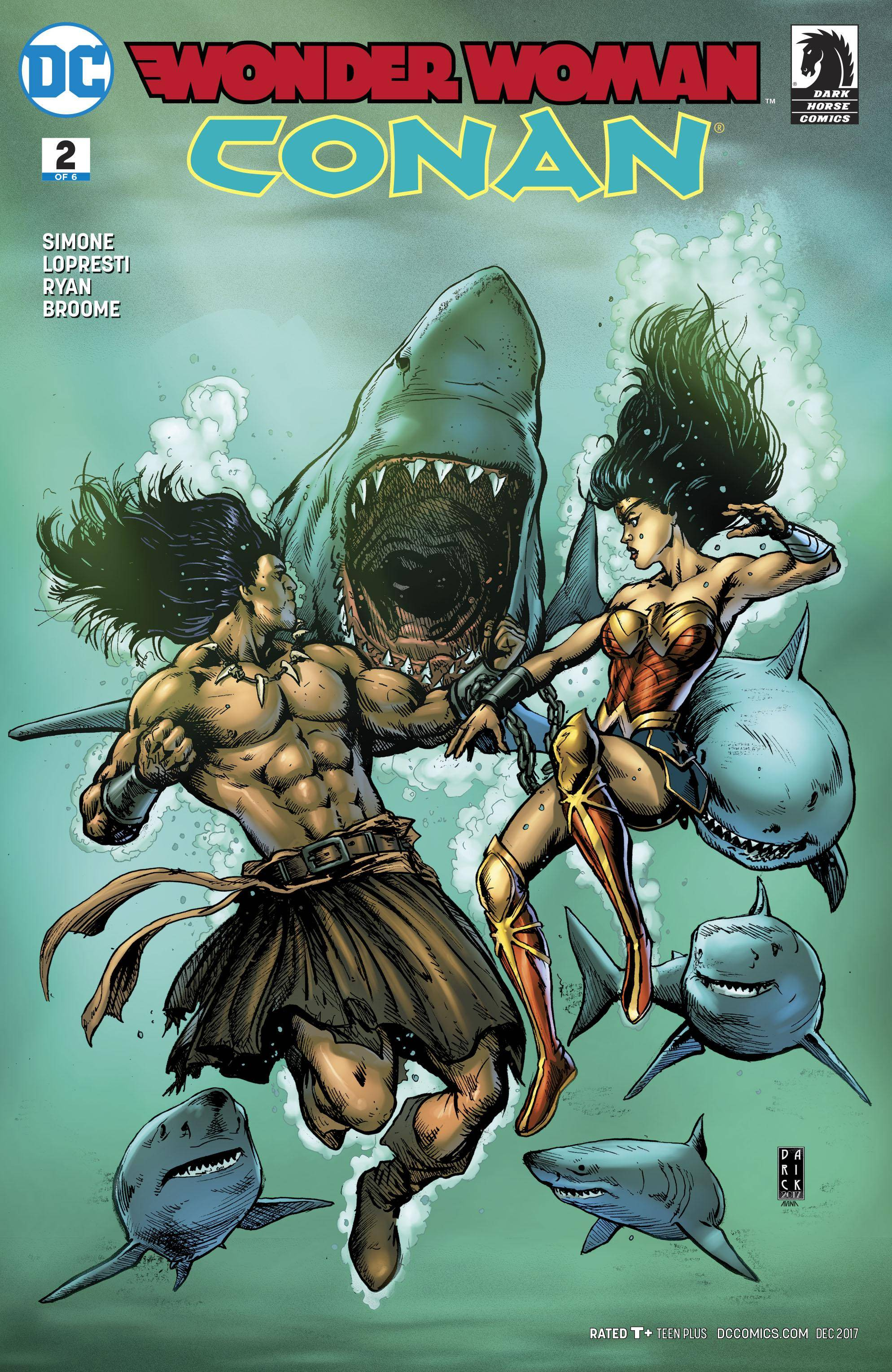 Wonder Woman - Conan 02 of 06 2 covers digital Son of Ultron-Empire