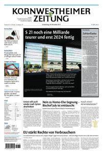 Kornwestheimer Zeitung - 30. November 2017