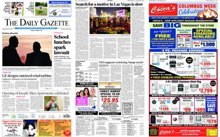 The Daily Gazette – October 06, 2017