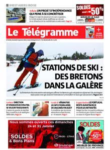 Le Télégramme Brest Abers Iroise – 22 janvier 2021