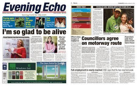 Evening Echo – January 27, 2018
