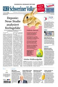 Schweriner Volkszeitung Gadebusch-Rehnaer Zeitung - 20. April 2019