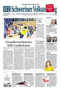 Schweriner Volkszeitung Hagenower Kreisblatt - 01. April 2019