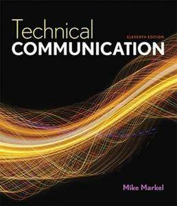 Technical Communication (11th edition) (Repost)