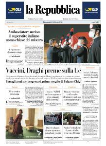 la Repubblica - 24 Febbraio 2021