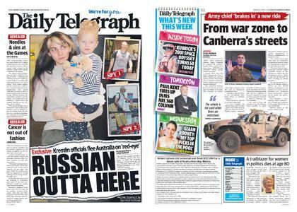 The Daily Telegraph (Sydney) – April 02, 2018