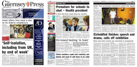 The Guernsey Press – 16 March 2020