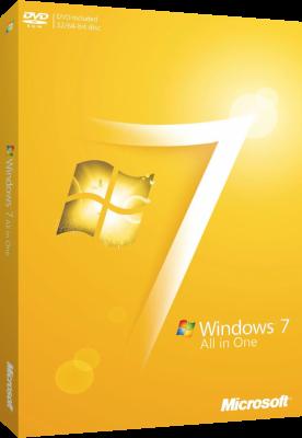 Microsoft Windows 7 SP1 AIO 9 in 1 Maggio 2019