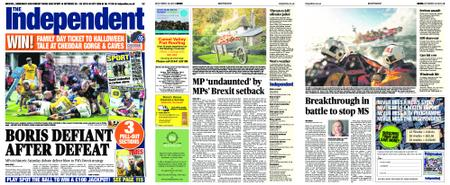 Sunday Independent Bristol Yeovil and Somerset – October 20, 2019