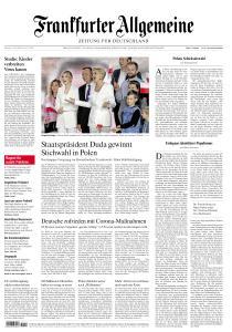 Frankfurter Allgemeine Zeitung - 14 Juli 2020