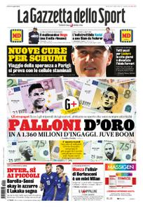 La Gazzetta dello Sport – 10 settembre 2019