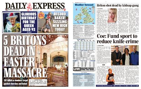 Daily Express – April 22, 2019