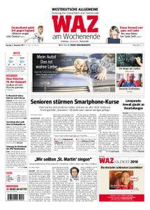WAZ Westdeutsche Allgemeine Zeitung Oberhausen-Sterkrade - 11. November 2017