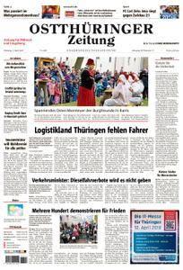 Ostthüringer Zeitung Pößneck - 03. April 2018