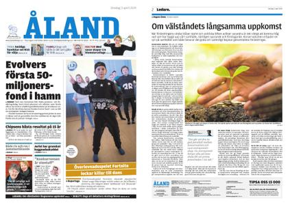 Ålandstidningen – 03 april 2019