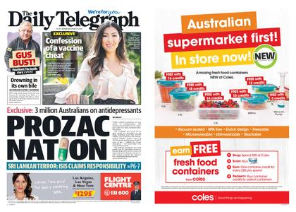 The Daily Telegraph (Sydney) – April 24, 2019
