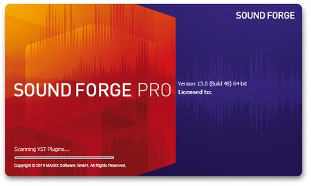 MAGIX SOUND FORGE Pro 13.0.0.96 (x64) Multilingual Portable