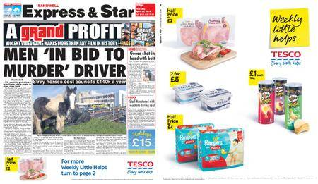 Express and Star Sandwell Edition – April 26, 2018