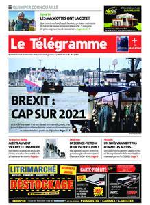 Le Télégramme Ouest Cornouaille – 26 décembre 2020