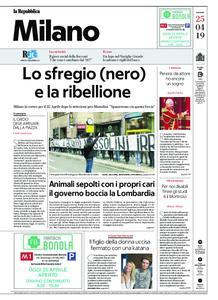 la Repubblica Milano – 25 aprile 2019