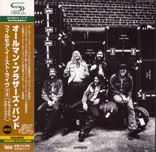 The Allman Brothers Band - At Fillmore East (1971) 2CD Japanese SHM-CD, Deluxe Edition 2009 [Re-Up]