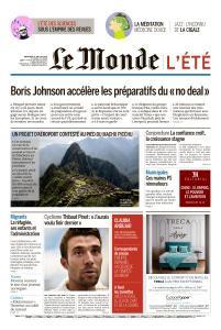 Le Monde du Mercredi 31 Juillet 2019