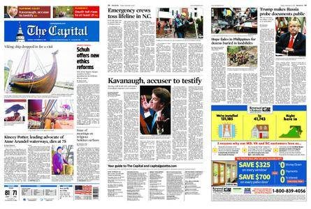 The Capital – September 18, 2018