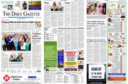 The Daily Gazette – December 24, 2017