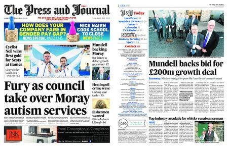 The Press and Journal Moray – April 06, 2018