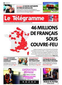 Le Télégramme Brest – 23 octobre 2020