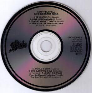 Kenny Burrell - God Bless The Child (1971) {1987, Reissue, Remastered}