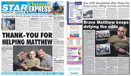 Shropshire Star Shrewsbury Edition – December 17, 2018