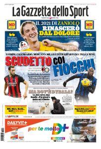 La Gazzetta dello Sport Roma – 29 dicembre 2020