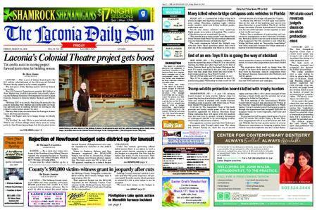 The Laconia Daily Sun – March 16, 2018