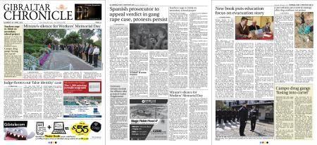 Gibraltar Chronicle – 28 April 2018