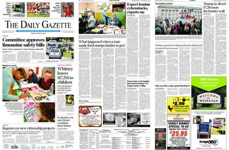 The Daily Gazette – January 14, 2020