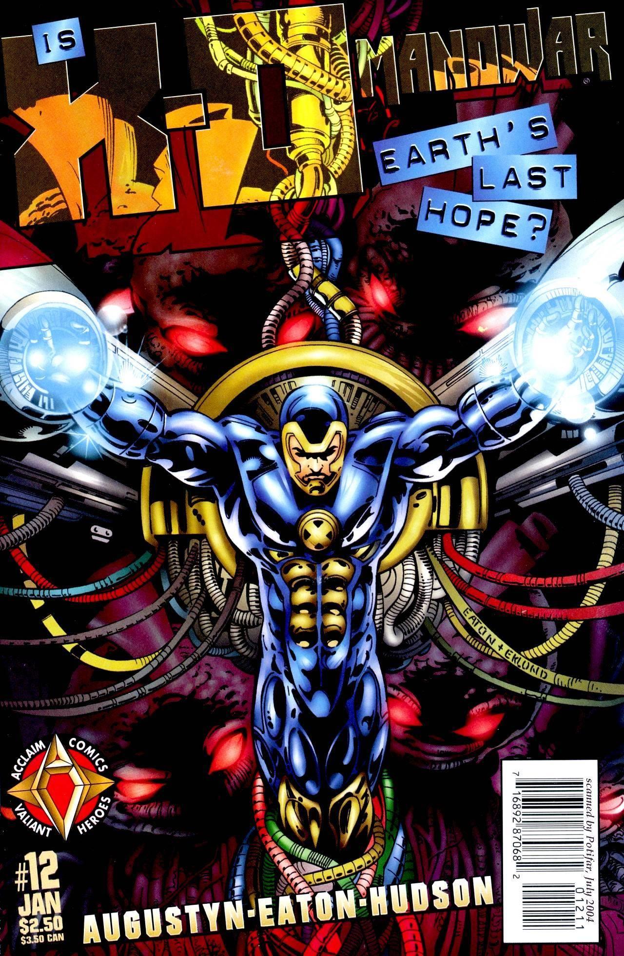 Valiant Flood X-O Manowar 012 1998 cbr