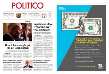 Politico – January 14, 2020