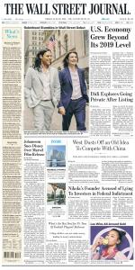 The Wall Street Journal - 30 July 2021