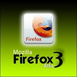 Mozilla FireFox 3 - Alpha
