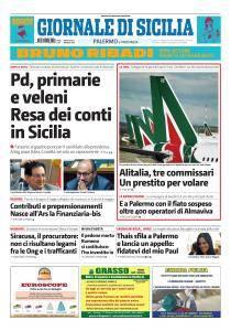 Giornale di Sicilia - 3 Maggio 2017