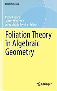 Foliation Theory in Algebraic Geometry (Simons Symposia)