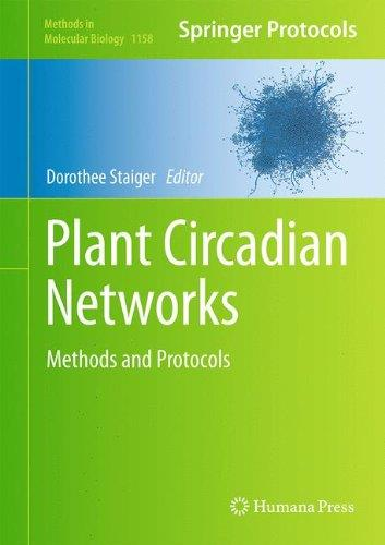 Plant Circadian Networks: Methods and Protocols (Repost)