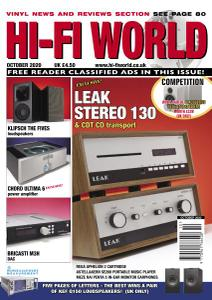 Hi-Fi World - October 2020