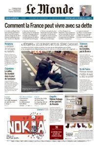 Le Monde du Mercredi 24 Juin 2020